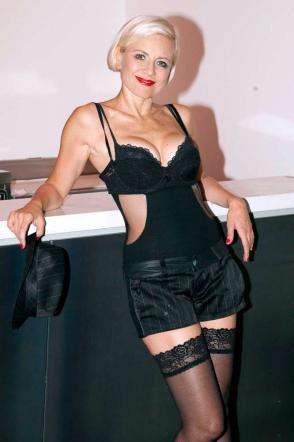 Antonella Elia, che sexy lingerie!
